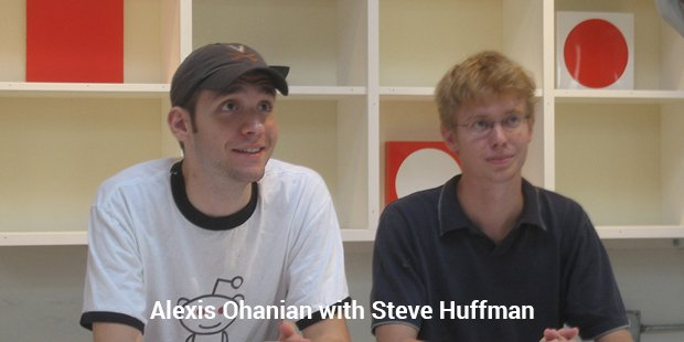 alexis ohanian with steve huffman