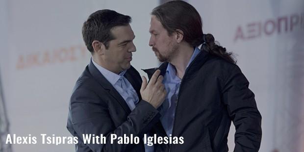 alexis tsipras with pablo iglesias