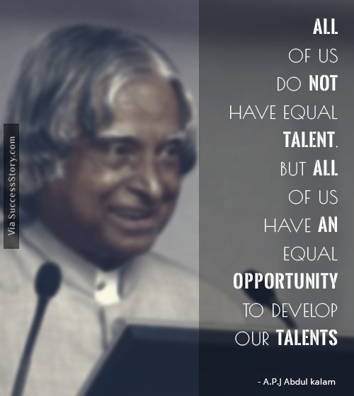Best Inspirational Quotes By Abdul Kalam: All Of Us Do