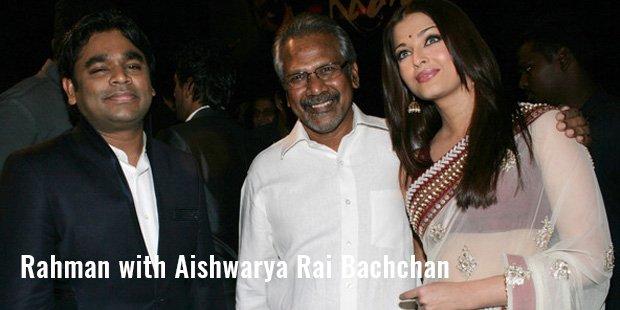 allah rakha rahman with aishwarya rai bachchan