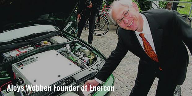 aloys wobben founder of enercon