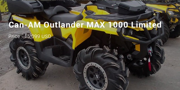 Can-Am Outlander 1000 Xmr Camouflage