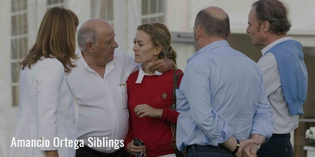 amancio ortega siblings