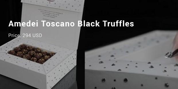 amedei toscano black truffles