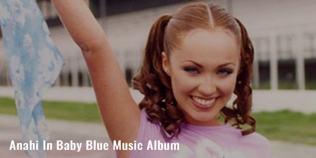 anahi in baby blue music album
