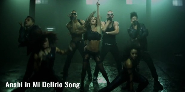anahi in mi delirio song
