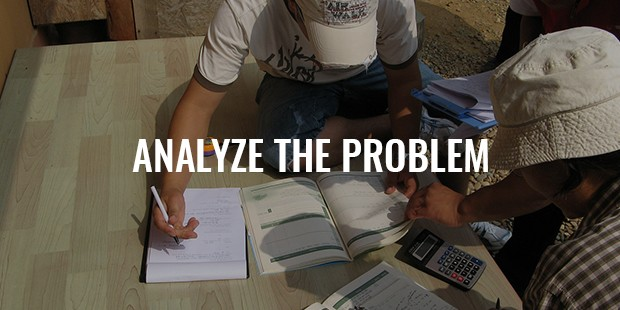 analyze the problem
