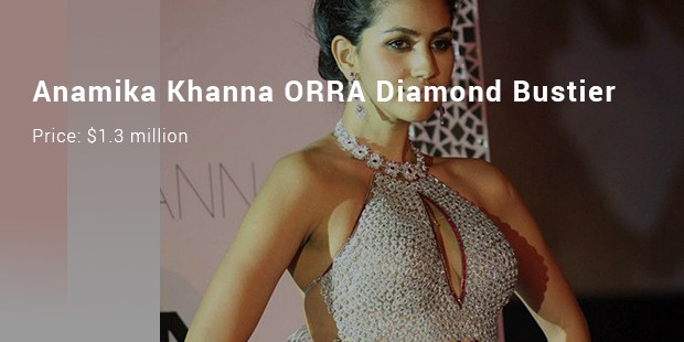 anamika khanna orra diamond bustier