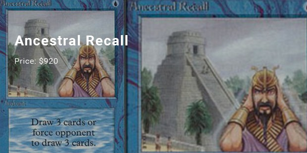 ancestral recall