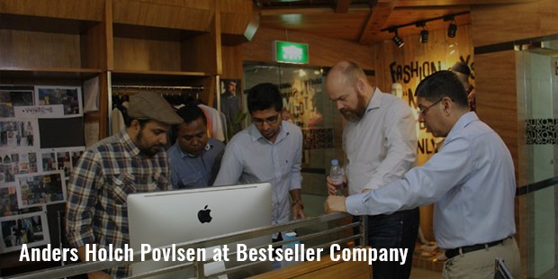 anders holch povlsen at bestseller company