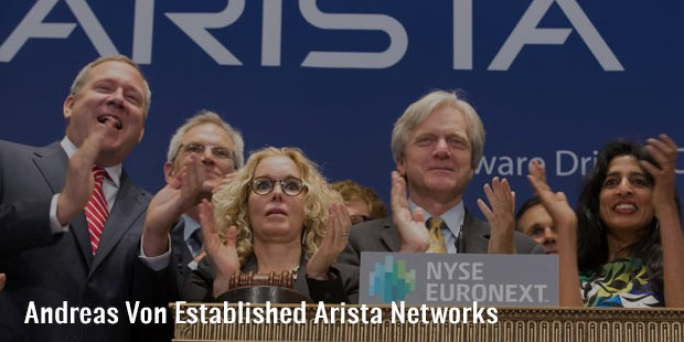 andreas von established arista networks