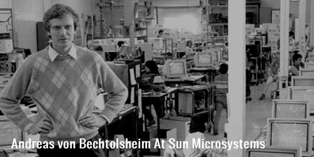andreas von bechtolsheim at sun microsystems