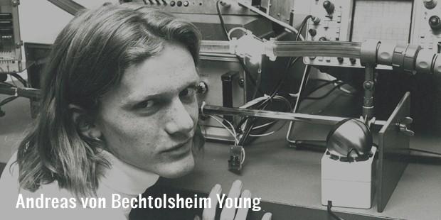 andreas von bechtolsheim young