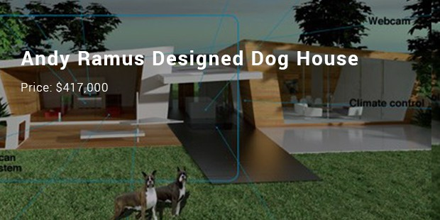 andy ramus designed dog house