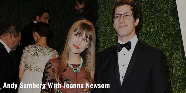 andy samberg with joanna newsom