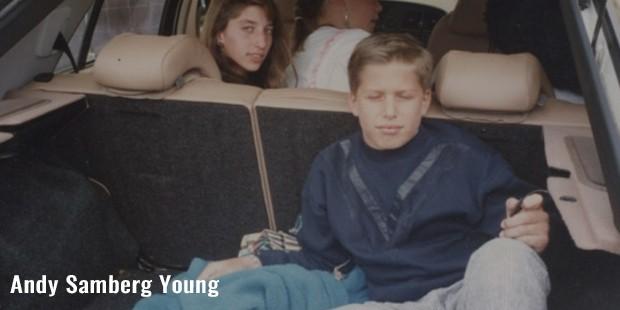 andy samberg young