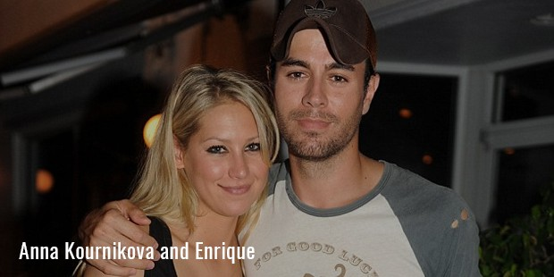 anna kournikova and enrique