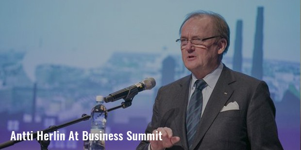 antti herlin at business summit