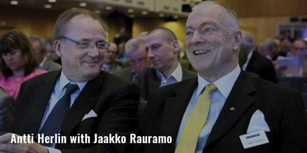 antti herlin with jaakko rauramo