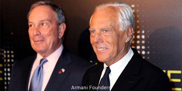 armani founders