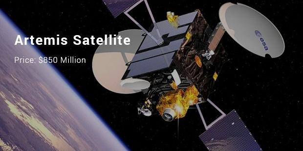 artemis satellite