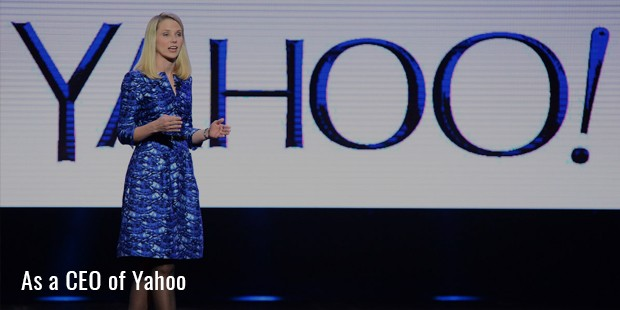 as a ceo of yahoo