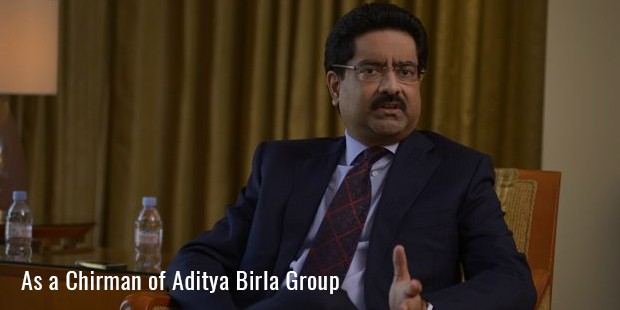 as a chirman of aditya birla group
