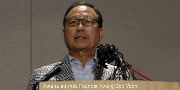 asiana airlines founder young doo yoon