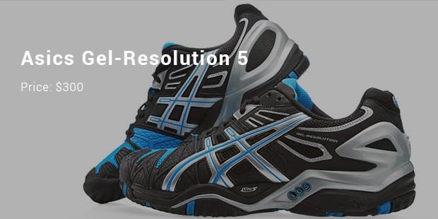 asics gel resolution 5