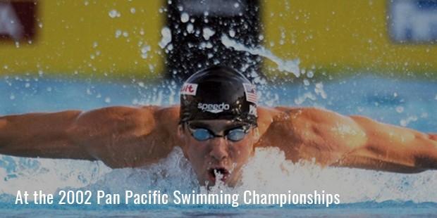 at the 2002 pan pacific swimming championships