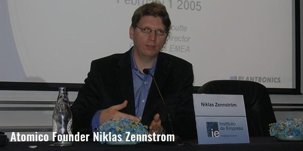 atomico founder niklas zennstrom