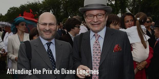 attending the prix de diane longines