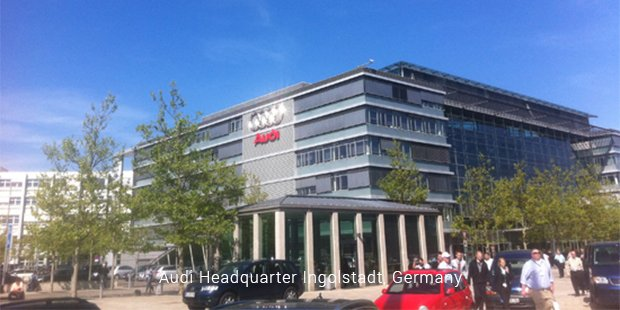 audi headquarter