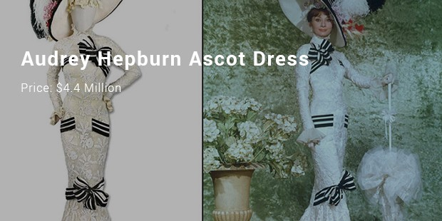 audrey hepburn ascot dress