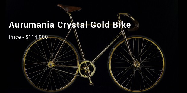 aurumania crystal gold bike