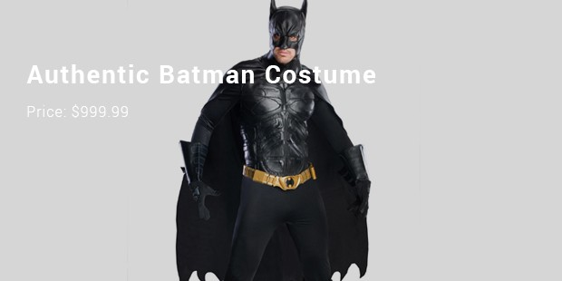 authentic batman costume
