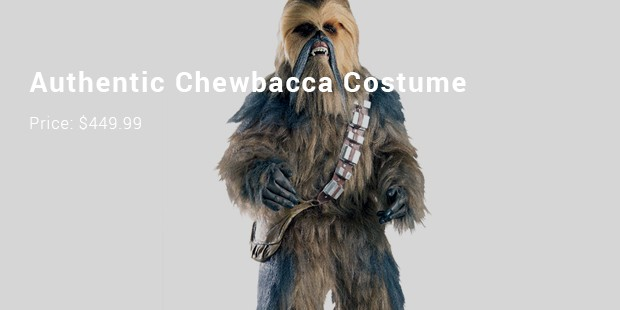 authentic chewbacca costume