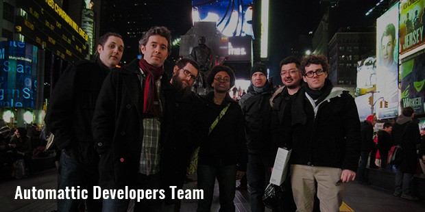 automattic developers team