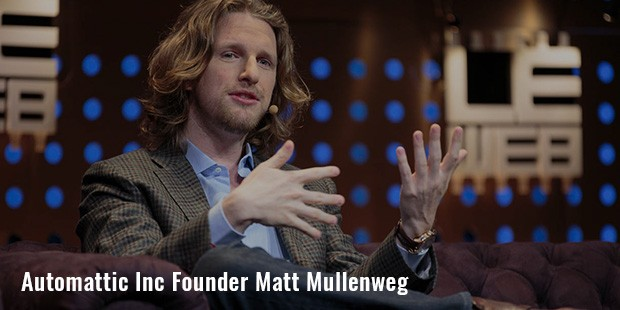 automattic inc founder matt mullenweg