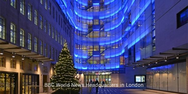 bbc world news headquarters in london