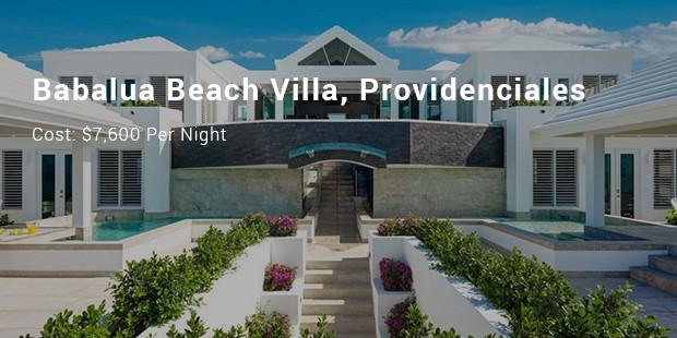 babalua beach villa, providenciales