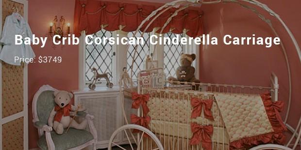 baby crib corsican cinderella carriage
