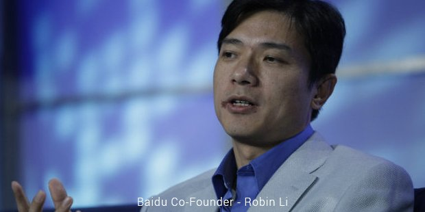 baidu co founder   robin li