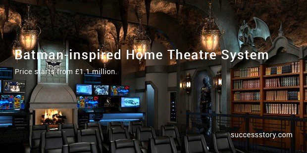 batman inspired home theatre system