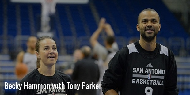 becky hammon with tony parker