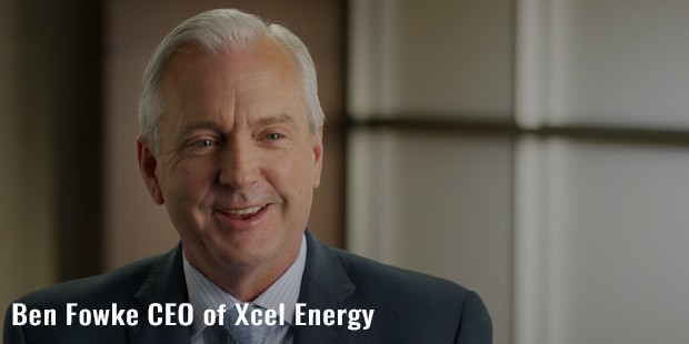 ben fowke ceo of xcel energy