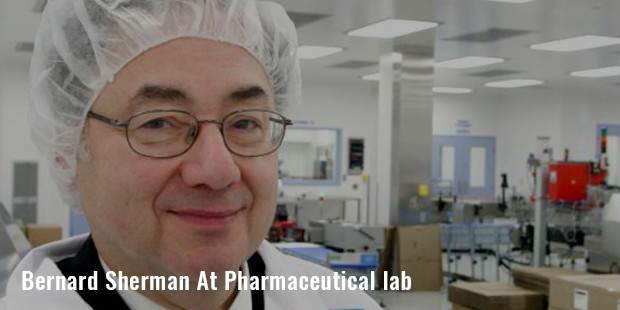 bernard sherman at pharmaceutical lab