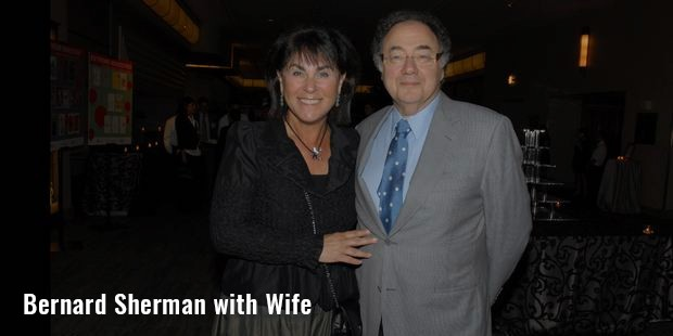 bernard sherman with wife image