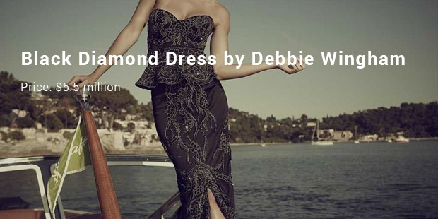black diamond dress by debbie wingham