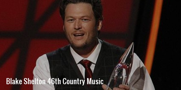blake shelton 46th country music